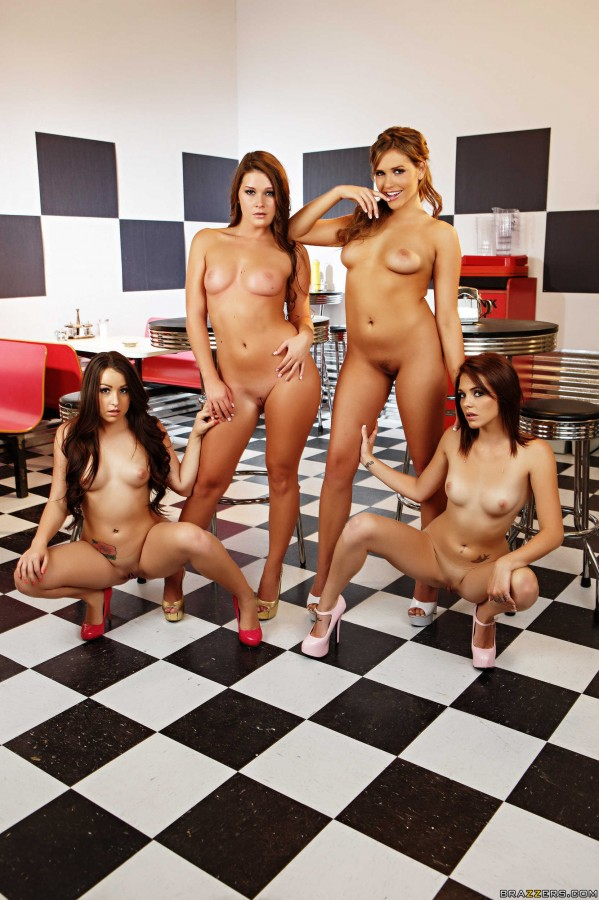 0597 599x900 Abby Cross, Mia Malkova, Kiera Winters, Lola Foxx   Hot and Mean